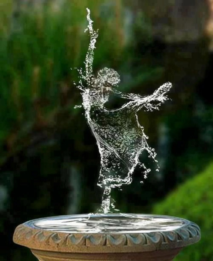Wellness & Arte: The Water Dance by Nicoló Marchionni